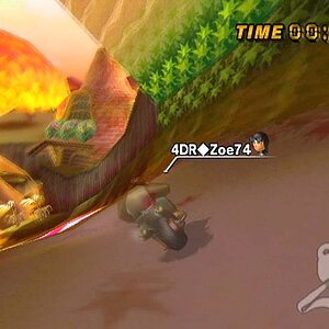 [MKWii] Former 4DR Clan Record - Maple Treeway (2:23.231) - 4DR◆Zoe74