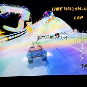 [MKWii] Former 4DR Clan Record - Rainbow Road (2:31.630) - Kitty◆4DR